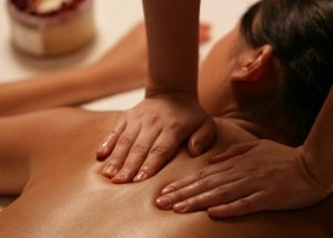 how to give a sensual massage - compression technique