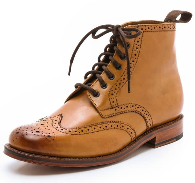 wing tip mens winter boots 2