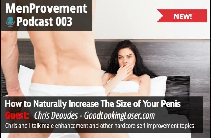 Menprovement podcast 003 - Penis Enlargement