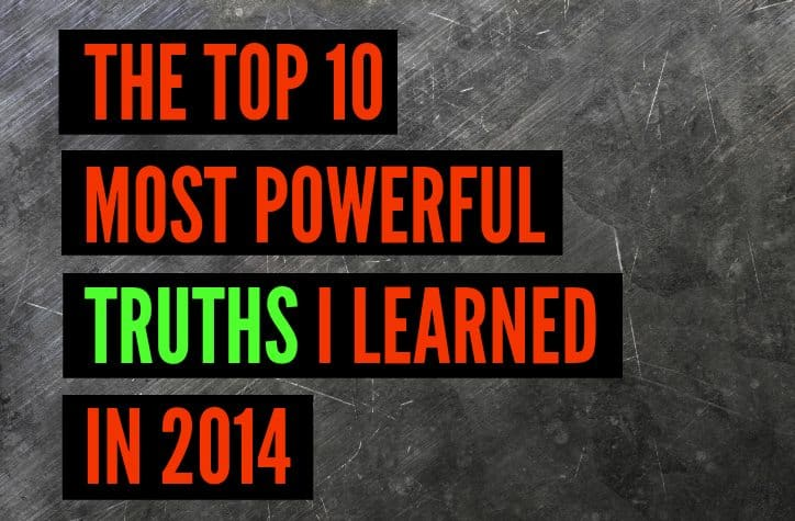 most powerful lessons of 2014