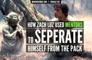 how zach luzinsky used mentors to separate himself from the pack