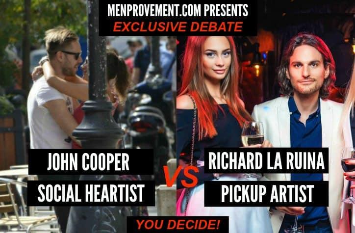 pickup vs social heartistry
