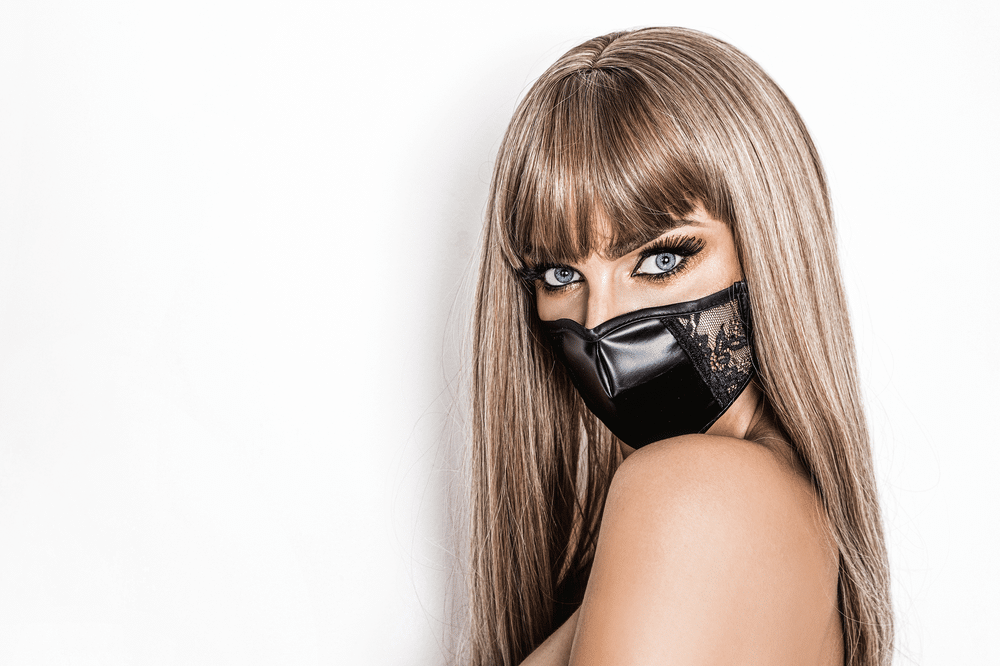 Hot Girl in a Mask